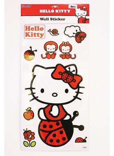 Hello Kitty Sticker Renkli